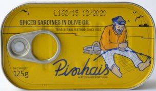 Pinhais_sardiner i kryddstark olivolja